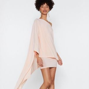 NWT Nasty Gal Superwoman double layer dress